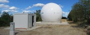 Zemeljska postaja.