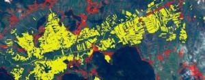 določanje obsega poplav / determination of floods extent