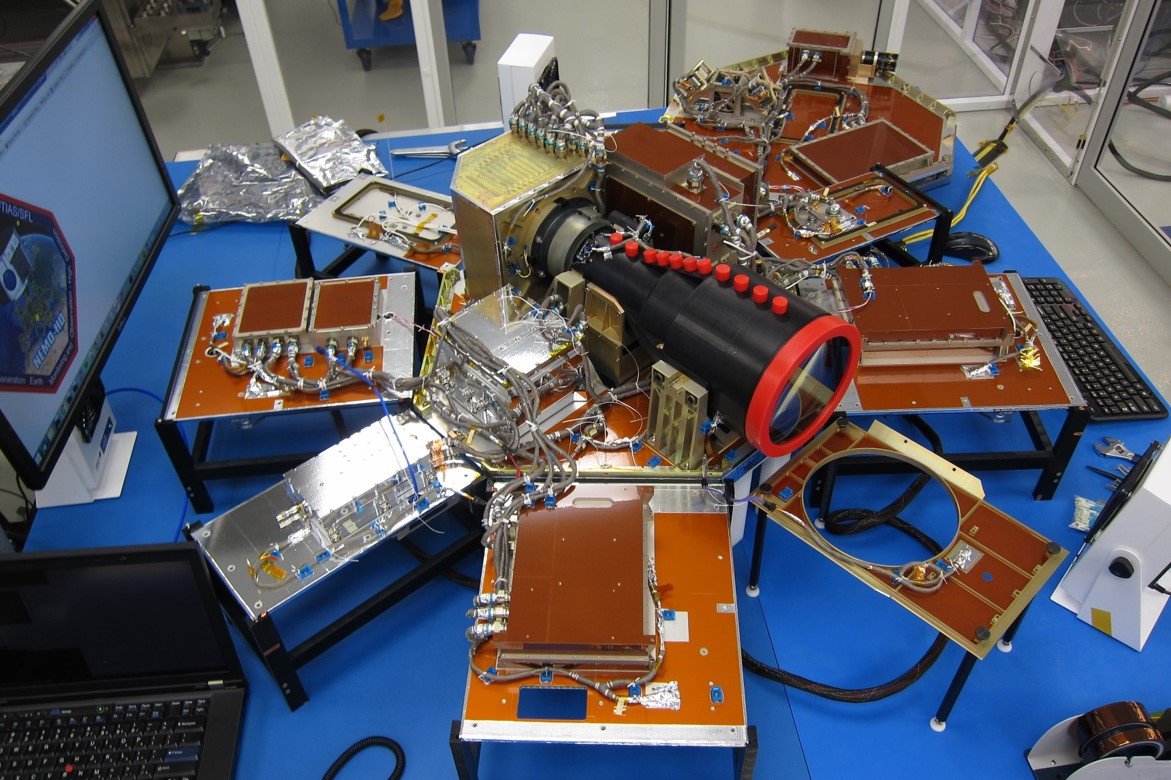 The interior of NEMO-HD satellite.