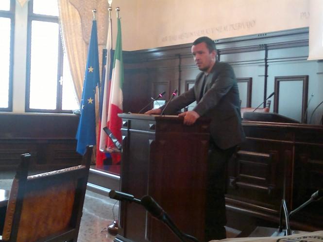 mag. Luka Štravs (MKO) v predstavitvi Direktive o poplavah