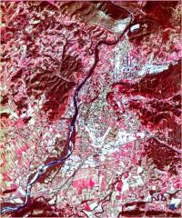 Nova Gorica - trikanalni naravnobarvni R-G-B prikaz