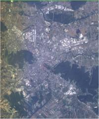 Ljubljana - barvni prikaz