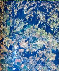 Murska Sobota - trikanalni naravnobarvni R-G-B prikaz