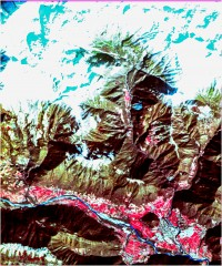 Tolmin - trikanalni naravnobarvni R-G-B prikaz